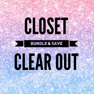 Other - Closet clear out - Bundle your likes and SAVE😉